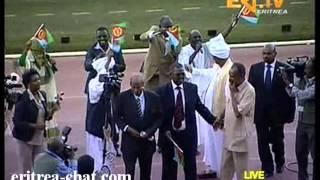Sudanese Singers at 22nd Eritrean Independence Day  Asmara Stadium 2013