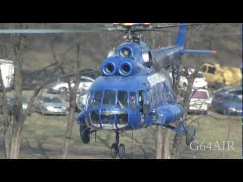 Helikopter Mi-8 OK-XYC Sky Tower Wrocław 23.03.2012