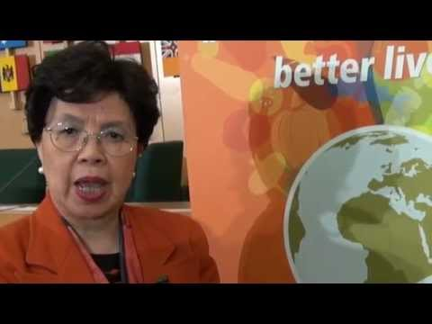 WHO: Dr Margaret Chan interview regarding the 2nd International Conference on Nutrition