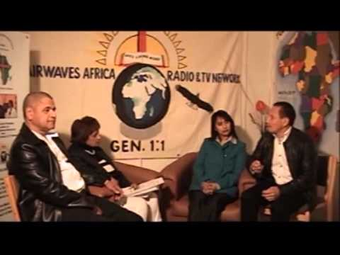 Airwaves Africa Radio & TV Networks - Avril Interviews Pastor Louis Campbell Part 1
