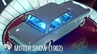 Motor Show in Earls Court (1962) | British Pathé