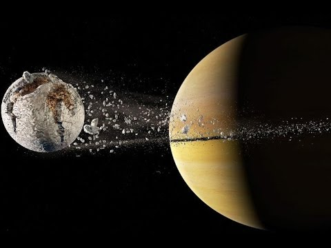 If Earth Became a Moon of Saturn