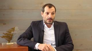 Adel Karam talking about his relationship with Dr. Samir Geagea in an exclusive YouTube video