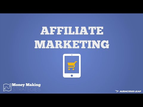 How Affiliate Marketing Works (Money Making Strategies COURSE) 4/10
