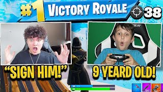 I Died & Spectated the BEST 9 Year Old Fortnite Player
