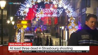Deadly shooting in France's Strasbourg