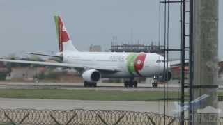 [SBFZ/ FOR] Pouso & Decolagem RWY13 Airbus A330-202 CS-TOL TAP Portugal 16/02/2014