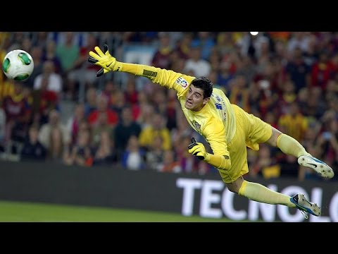 Thibaut Courtois 2014  ► World's Best Goalkeeper  ►HIGHER   Best saves