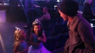 Sophia Grace & Rosie Meet One Direction On X Factor uk | Sophia Grace