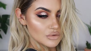 SPOTLIGHT CUT CREASE MAKEUP TUTORIAL | JAMIE GENEVIEVE