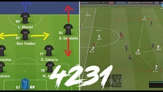 Why 4231 is the most stable formation/meta to give you wins (TACTICS) - FIFA 19 Ultimate Team