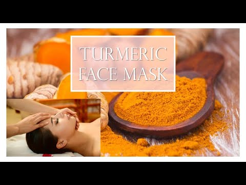 Indian Beauty : Turmeric facial mask