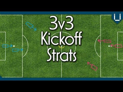 Five Kickoff Strats for 3v3 | Illustrated Tutorial | Rocket League