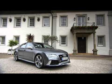 Audi RS 7 Sportback Footage