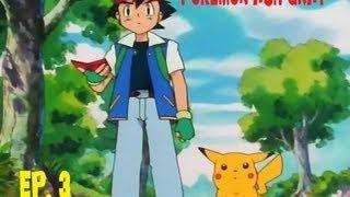 Pokemon Ash Gray - Ep 3: Ash Catches A Pokemon! w/Silverback