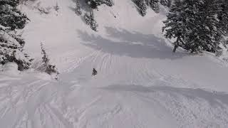 Trying to Keep up with Travis Rice at Jackson Hole