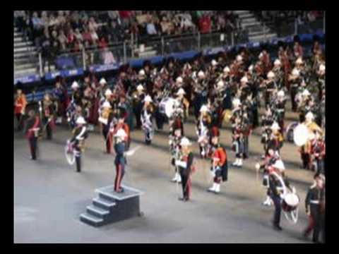 Photos of the bands who performed during the 2008 Edinburgh Military Tattoo