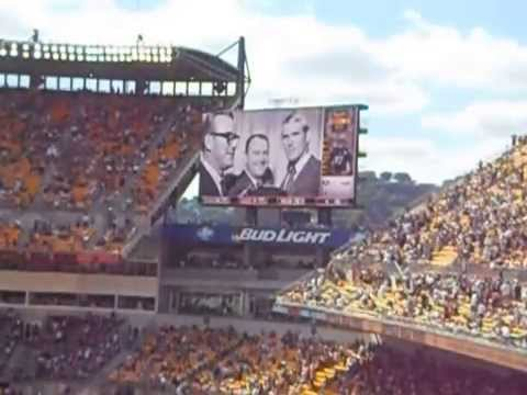 Chuck Noll scoreboard tribute at Heinz Field