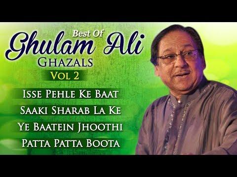 Best Of Ghulam Ali Ghazals Vol 2 - Superhit Hindi Ghazals - Pakistani Ghazals - Musical Maestros