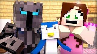 Minecraft: PENGUINS HIDE AND SEEK!!! - Animation
