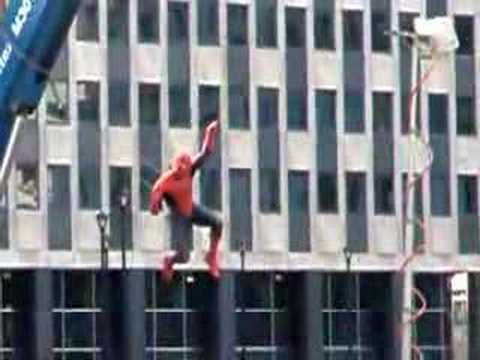 On the Set of Spiderman 3