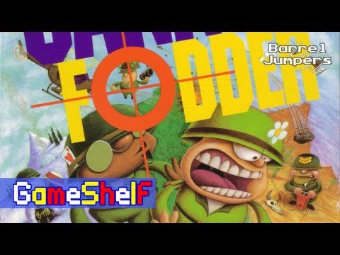 Cannon Fodder - GameShelf #9