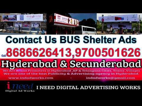 We Do Bus Shelter Advertising Service in Hyderabad & Secunderabad