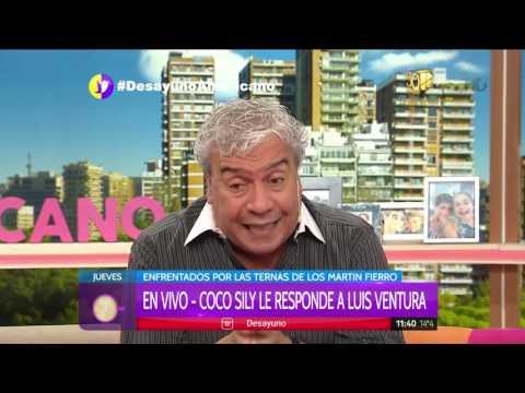 Coco Sily enojado con Luis Ventura y Aptra: aclaró su tweet