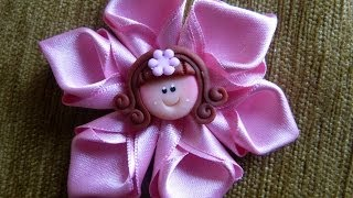 DIY Easy Make Magic Flower,, flor listón facil ,vídeo 272 , Easy Hair Bow