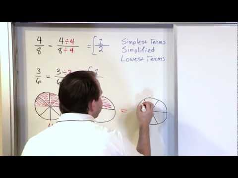 Simplifying Fractions, Part 1 - 5th Grade Math video