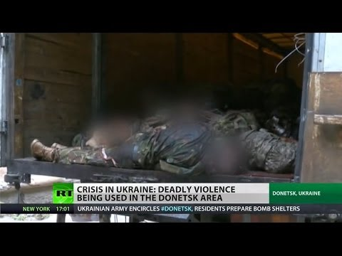 Upwards of 50 dead after clashes in Donetsk, Ukraine
