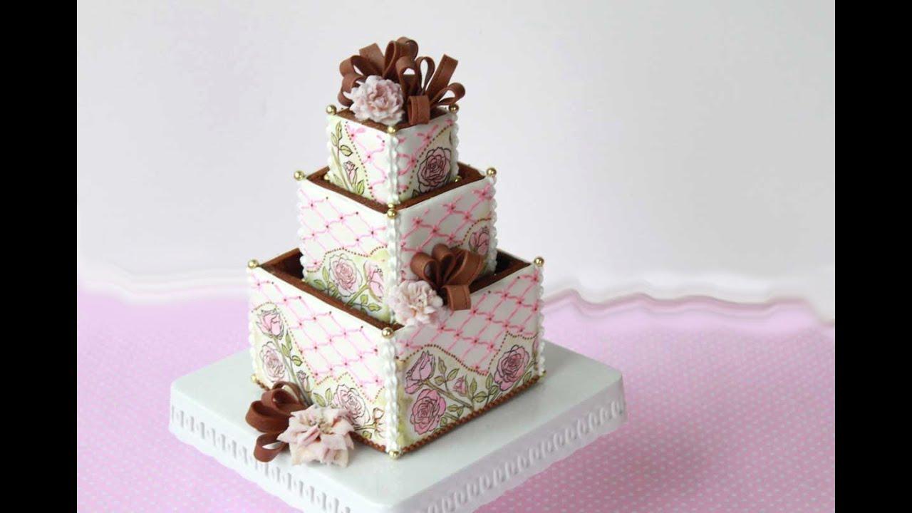 Tier Wedding Cake Boxes