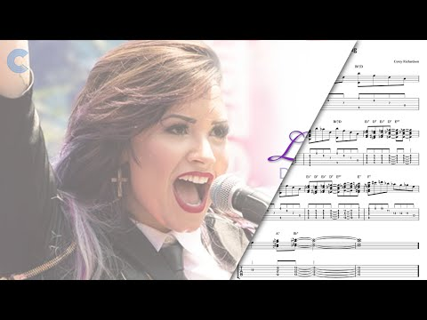 Horn in F   Let it Go   Demi Lovato - Sheet Music, Chords, and Vocals