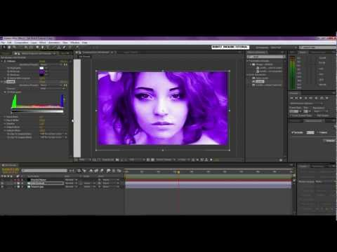Ink Bleed Picture Reveal Video Tutorial (After Effects).