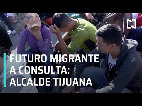 Alcalde acusa a Caravana Migrante de Honduras de alterar el orden - En Punto con Denise Maerker