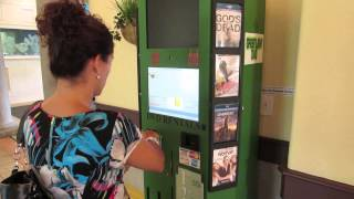 DVD Kiosk Movie rental