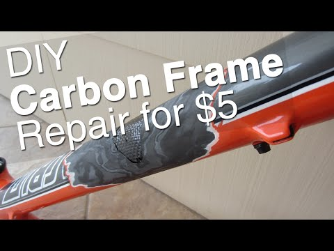 DIY Carbon Bike Frame Repair    Tools. Supplies. How To. Step by Step