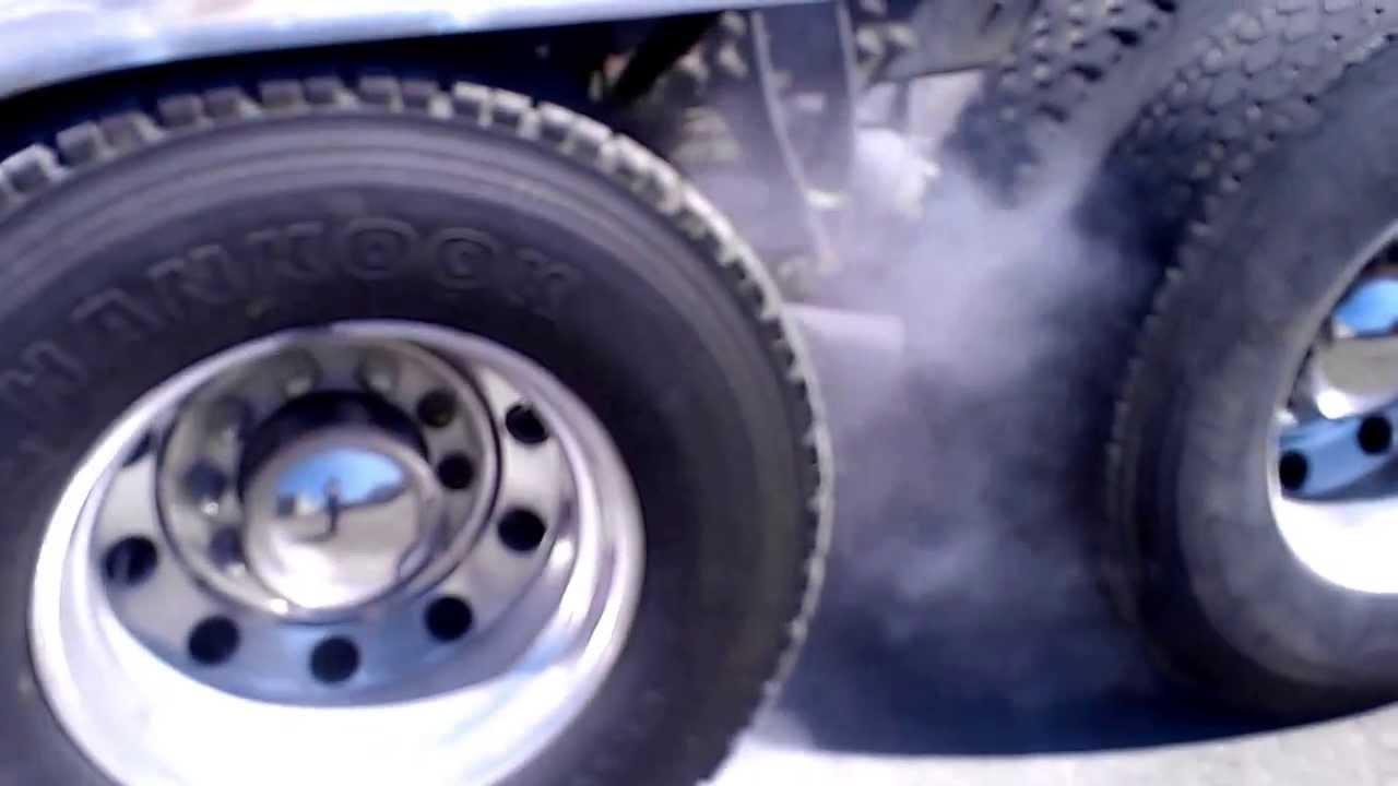 Semi Trucks Brakes Overheat Surrey Bc Canada 720p Hd