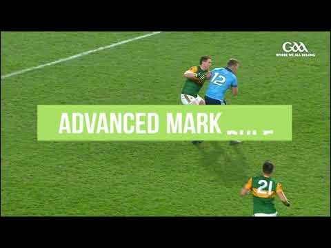 GAA Rule Changes Explained - New Advanced Mark Rule