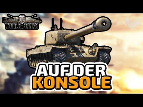 Auf der Konsole - ♠ World of Tanks #001 ♠ - Xbox One X - Deutsch German - Dhalucard