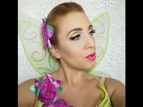 Disney's Tinkerbell 'Fairy' Halloween Makeup Tutorial