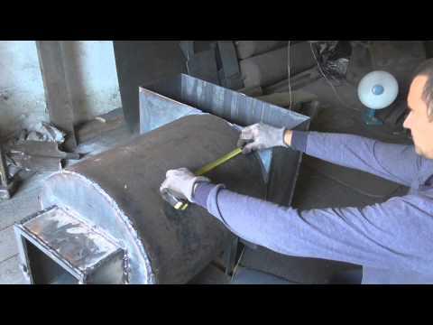 Как сварить печь для бани - видео