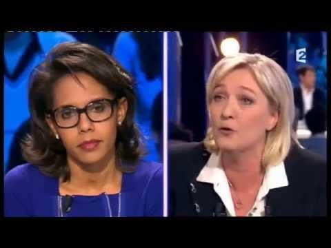 Marine Le Pen - On n'est pas couché 18 février 2012 #ONPC