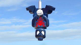 Видео прохождения игры лего человек паук