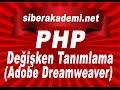 Php Değişken Tanımlama (Adobe Dreamweaver) mp3 indir