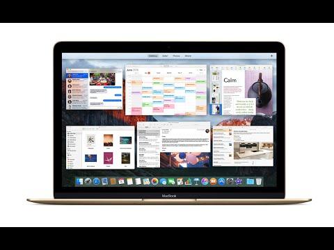 OS X El Capitan Disk Utilities