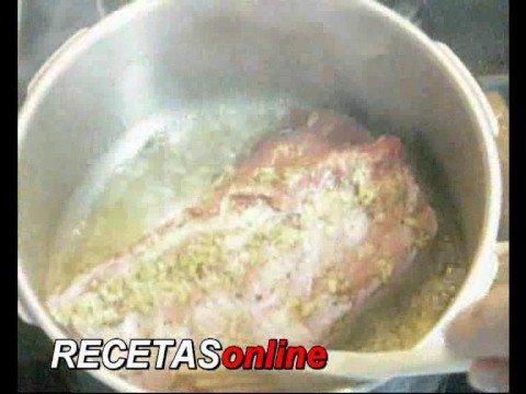 Lomo de cerdo a la naranja - Recetas de cocina