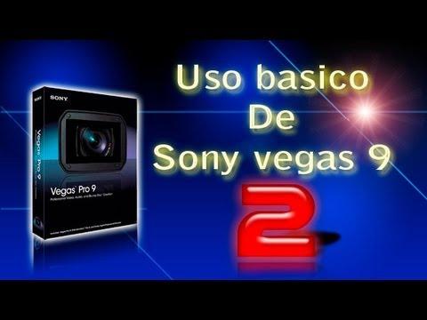 Uso básico de Sony Vegas pro9 PARTE 2/3