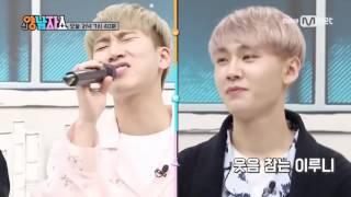BLACKPINK  New Yang Nam Show - BTOB I'll Be Your Man Funny Mic Changed Version