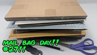 Mail Bag Day Comic Book Haul and Unboxing #27!!